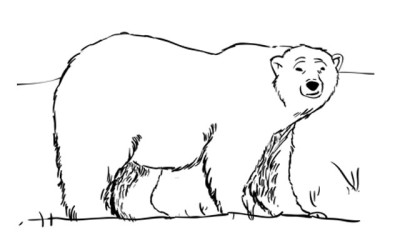 How to Draw a Polar Bear – Sketchbook Challenge 51