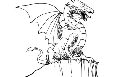 How to Draw a Dragon – Sketchbook Challenge 53