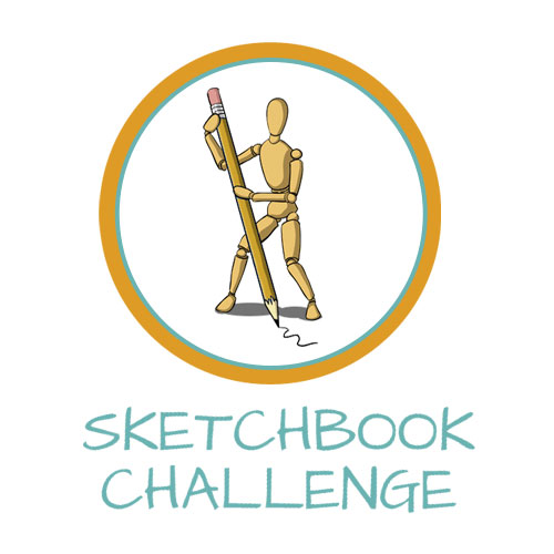 Start the 30 Day Sketchbook Challenge!